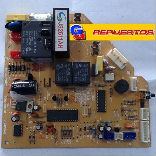 PLAQUETA ORIGINAL AIRE ACONDICIONADO SPLIT CM9000 FRIO/CALOR (JS2511AH / PD-JS3118XD)