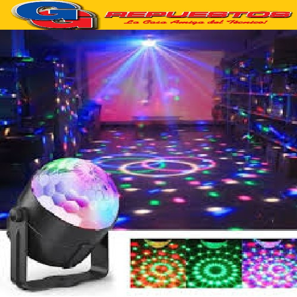 MINI ESFERA / BOLA MAGIC  LED EFECTO DJ, CUMPLEAÑOS, FIESTAS, PELOTEROS,EVENTOS, ETC. INCLUYE CONT. REMOTO.