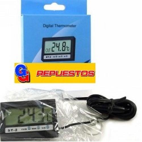 TERMOMETRO DIGITAL ST2- REFRIGERACION- 2EN1- DOBLE SENSOR