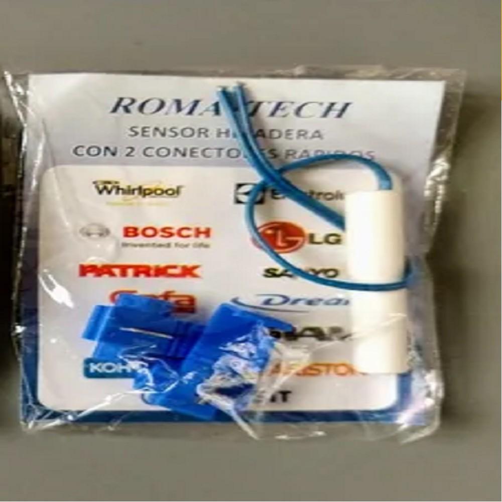 SENSOR HELADERA 4.7 -5 K C/2 CONECTORES RAPIDO - MARCA ROMA- TECH