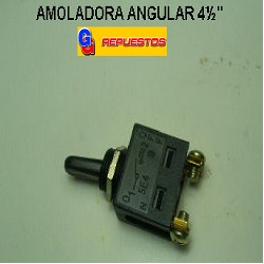 INTERRUPTOR AMOLADORA .ANGULAR.4½