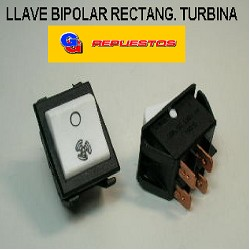 LLAVE BIPOLAR RECTANG. TURBINA