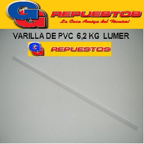 VARILLA PVC 6.2 KG SECARROPA PEABODY STANDAR ELECTRIC LUMER COVENTRY SCB 6100