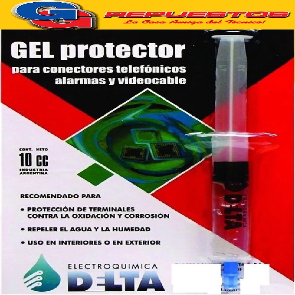 GEL PROTECTOR DE CONECTORES, JERINGA 10CC