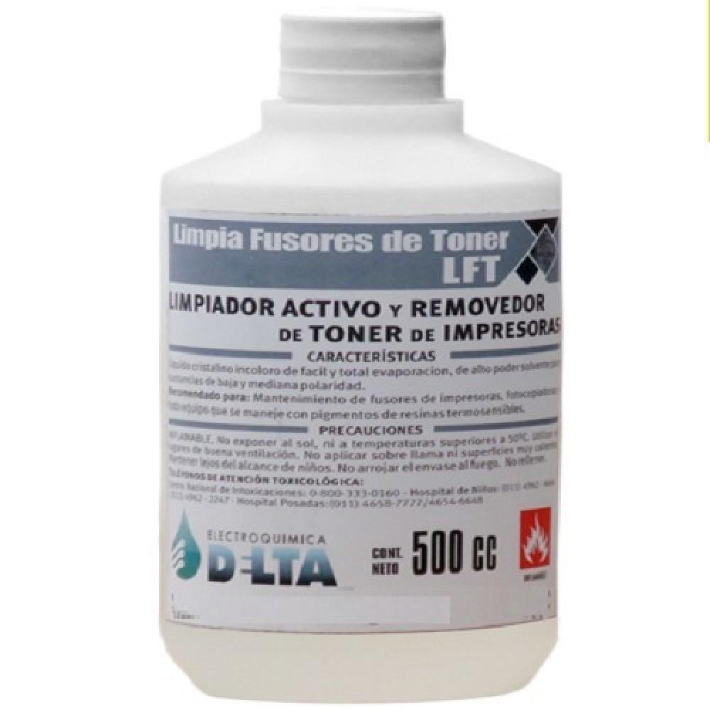 LIMPIADOR DE TONER POR 500 CC