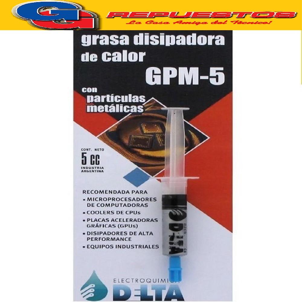 GPM-5 GRASA DISIPADORA PARTICULAS METALICAS/JERINGA 5 CC