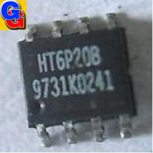HT6P20B CIRCUITO INTEGRADO REMOTE CONTROL ENCODER (SO-08) (SMD)