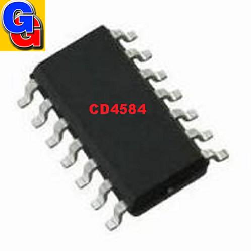 CD4584D=TC4584 - HEX SCHMITT TRIGGER (SMD)