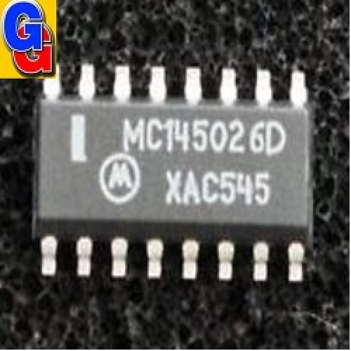 MC145026D - REMOTE CONTROL ENCODER (SMD) CODIFICADOR DE CONTROL REMOTO