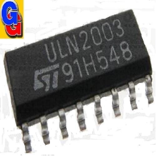 ULN2003D SMD CIRCUITO INTEGRADO ARREGLO DE DARLINGTON 0.5A 50V TTL