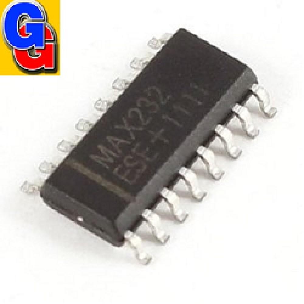 MAX232D SMD CIRCUITO INTEGRADO DUAL RS-232 TRANS/RECEIVER +5V SO-16 MAX232CSE
