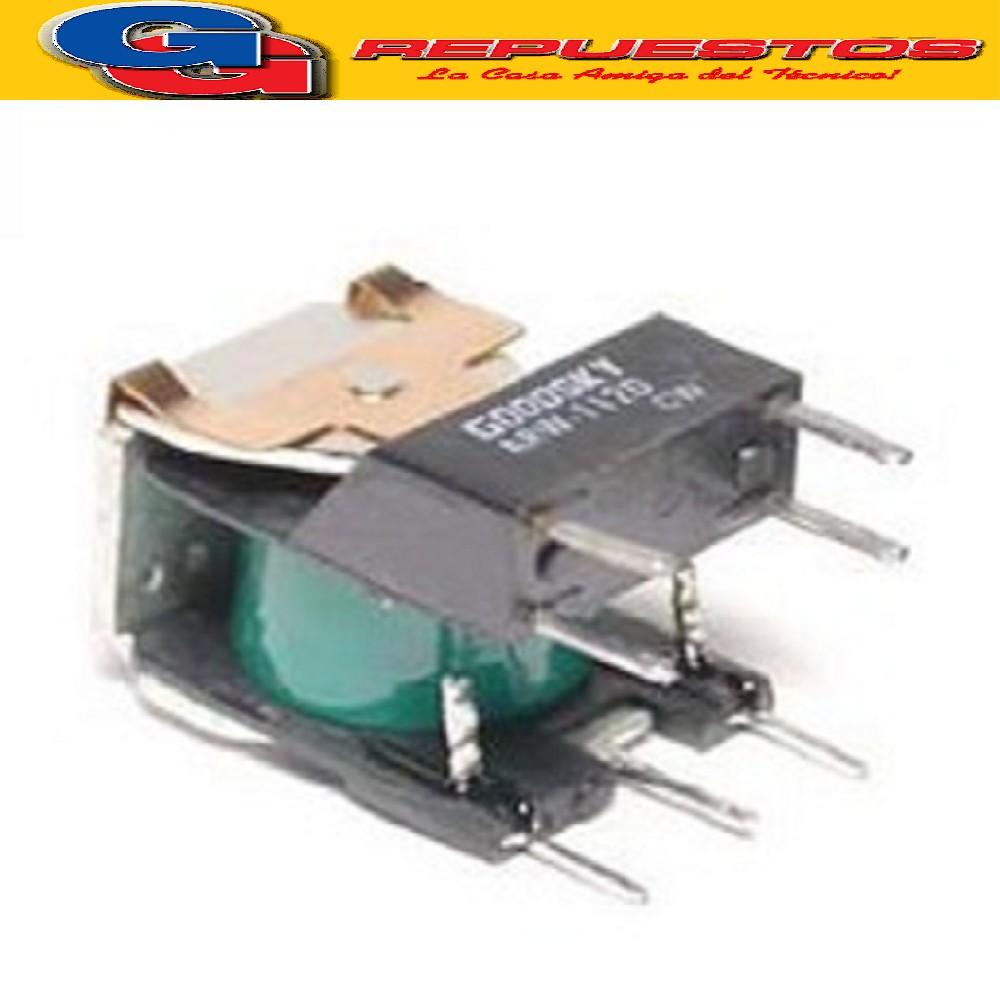 ARW-112D1 - RELE BOBINA 12V (130E) 15A 28V INVERSOR SIMPLE DE 2 CONTACTOS