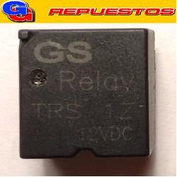 TRS-12V - RELE BOBINA  12V  (254E);  30A 27V INVERSOR SIMPLE