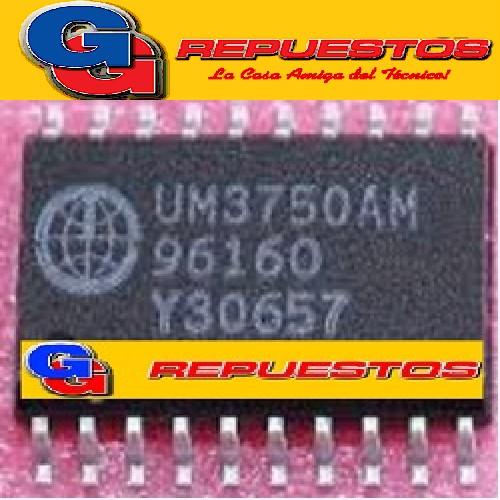 UM3750AM - CODIFICADOR/DECOFICADOR DE CONT. REMOTO (SMD)