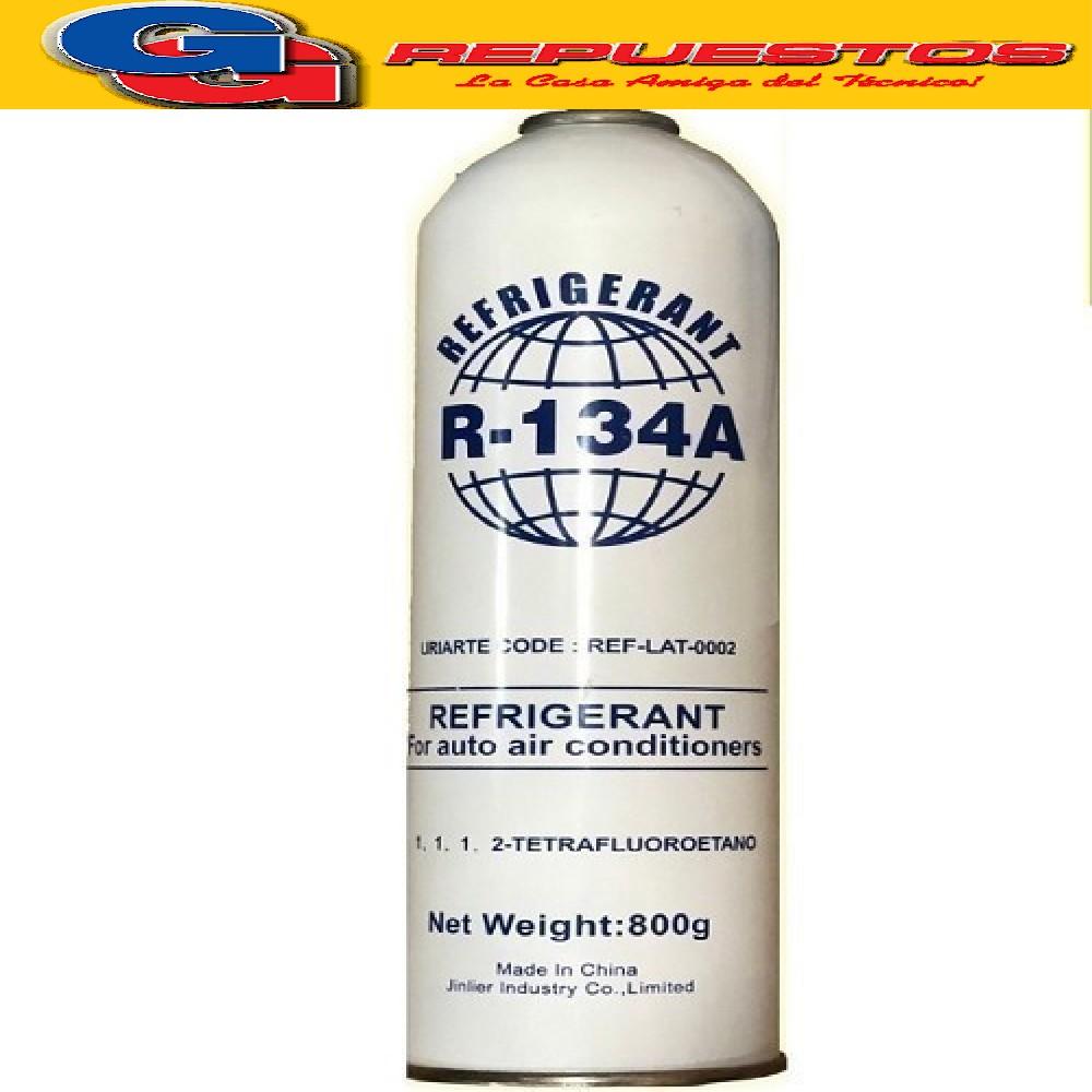 LATA GAS R134A 800 GRS REFRIGERANT ROSCA FINA