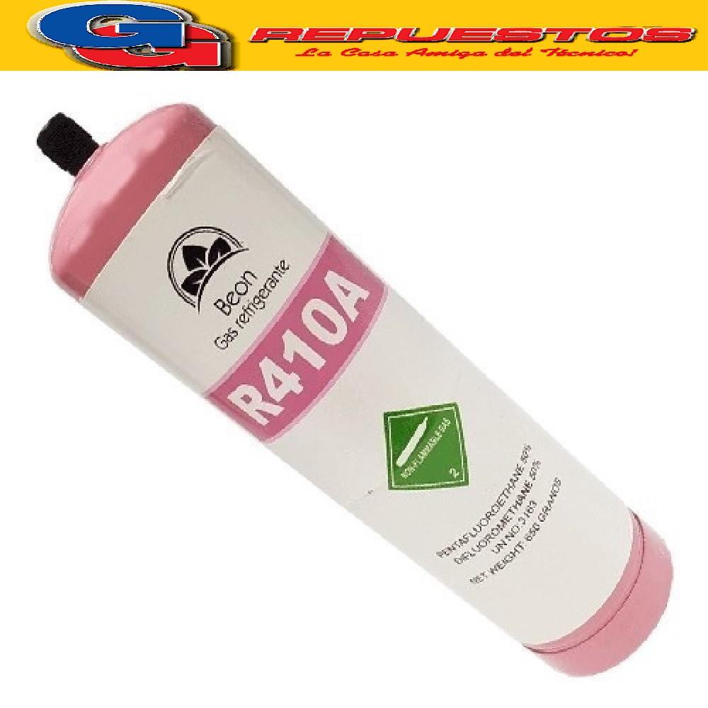 LATA DE GAS R410  650G REFRIGERANT ENVASE DESCARTABLE