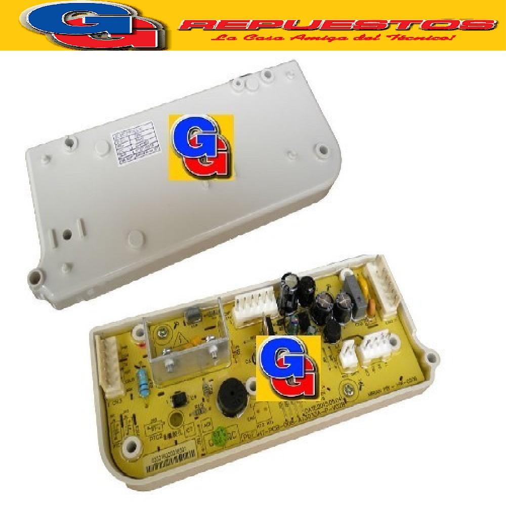 PLAQUETA LAVARROPAS SOLA POTENCIA ELECTROLUX MIRIAM ORIGINAL/ELACW09/ELACW10/FUZZY WASH/ DIGITAL WASH UNIDAD DE POTENCIA {{COD.ORIGEN: 2220302 (GAFA) PLACA ELECTRONICA DE POTENCIA}}