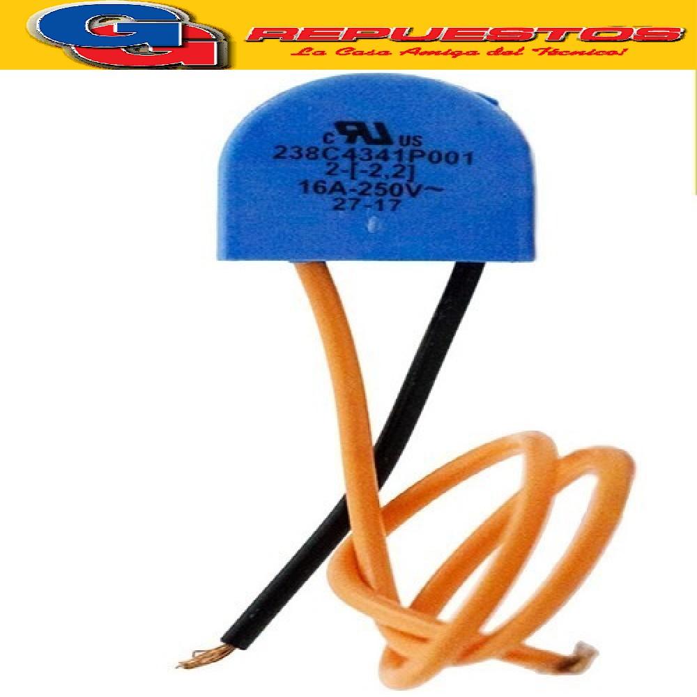 BIMETAL (PLASTICO) HELADERA PATRICK HPK/HPK350/HMA335 {{WR03F04317 (MABE)/520050 (MABE) BIMETAL.EMICOL 331.911.10.00.0 HPK350/HMA335}} PRECIO POR UNIDAD- BOSCH- PATRICK