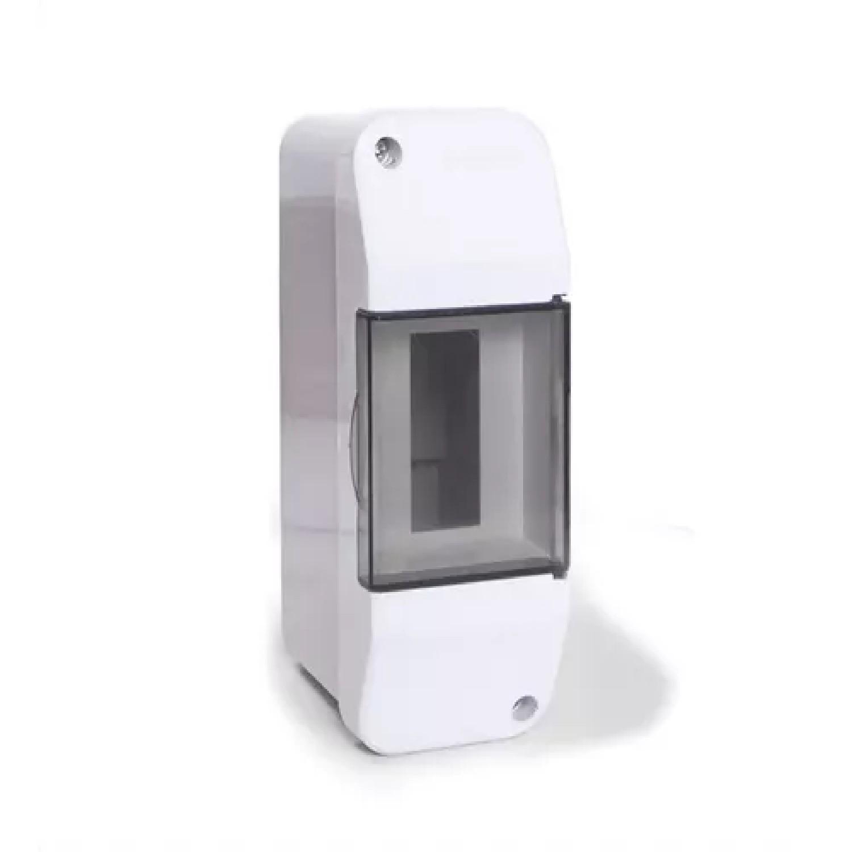 CAJA PARA TERMICA PVC EXTERIOR 02 BOCAS CON PUERTA(T205)-TAAD