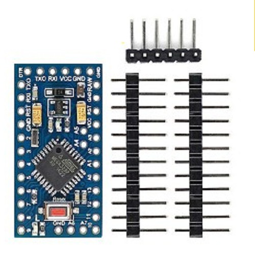 AA010 - PRO MINI ATMEGA328P SMD PLACA BASE (ARDUINO)