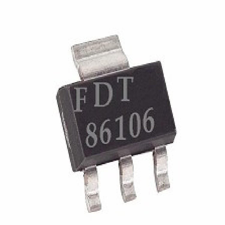 FDT86106 - SOT223  - CIRCUITO INTEGRADO