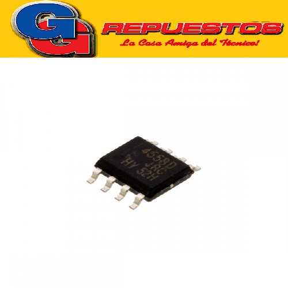 CIRCUITO INTEGRADO MC/JRC 4558D SMD