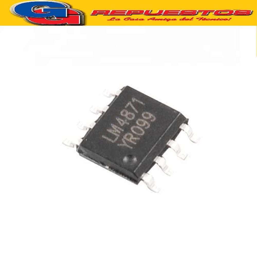 CIRCUITO INTEGRADO LM4871 SMD