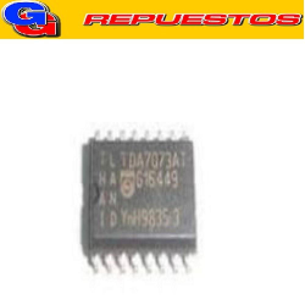 CIRCUITO INTEGRADO TDA7073AT SMD controlador de alimentación dual BTL, diseñado para ser utilizado como un controlador de energía para servo Sistemas con un solo suministro