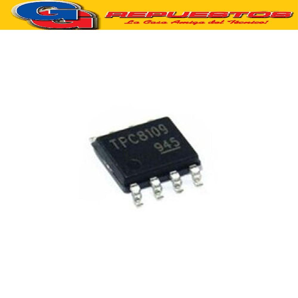 CIRCUITO INTEGRADO TPC8109 SMD TIPO MOS CANAL P SILICION DE EFECTOS DE CAMPO (U-MOS III)