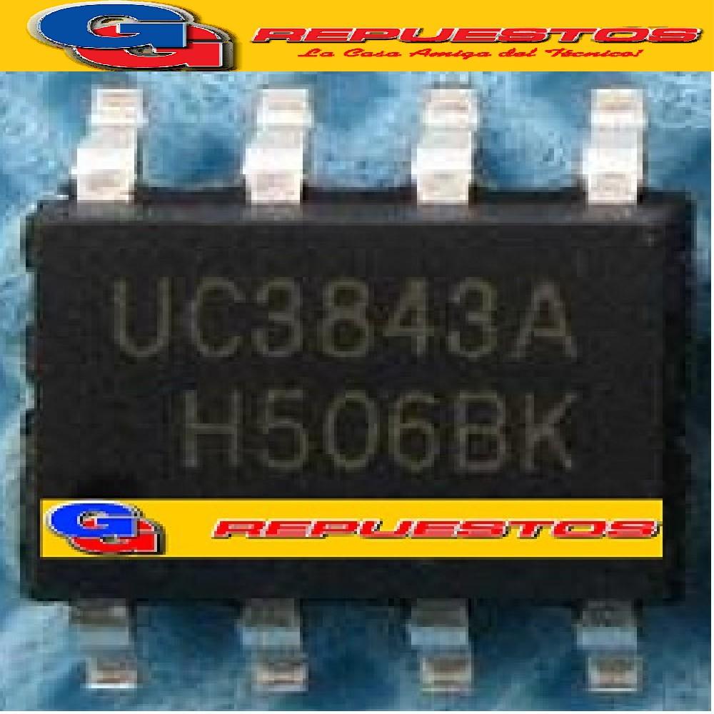 CIRCUITO INTEGRADO UC3843A SMD