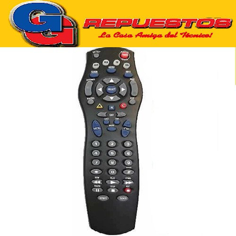 CONTROL REMOTO CONVERSOR DIGITAL MOTOROLA (3153)