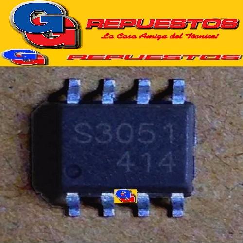 CIRCUITO INTEGRADO S3051 OSCILADOR DE FUENTE SAMSUNG SME3051