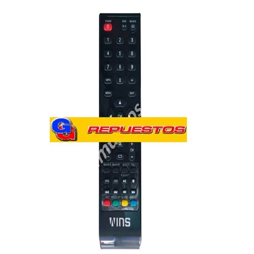 CONTROL REMOTO LED WINS-ILO MARK MOX (3890)
