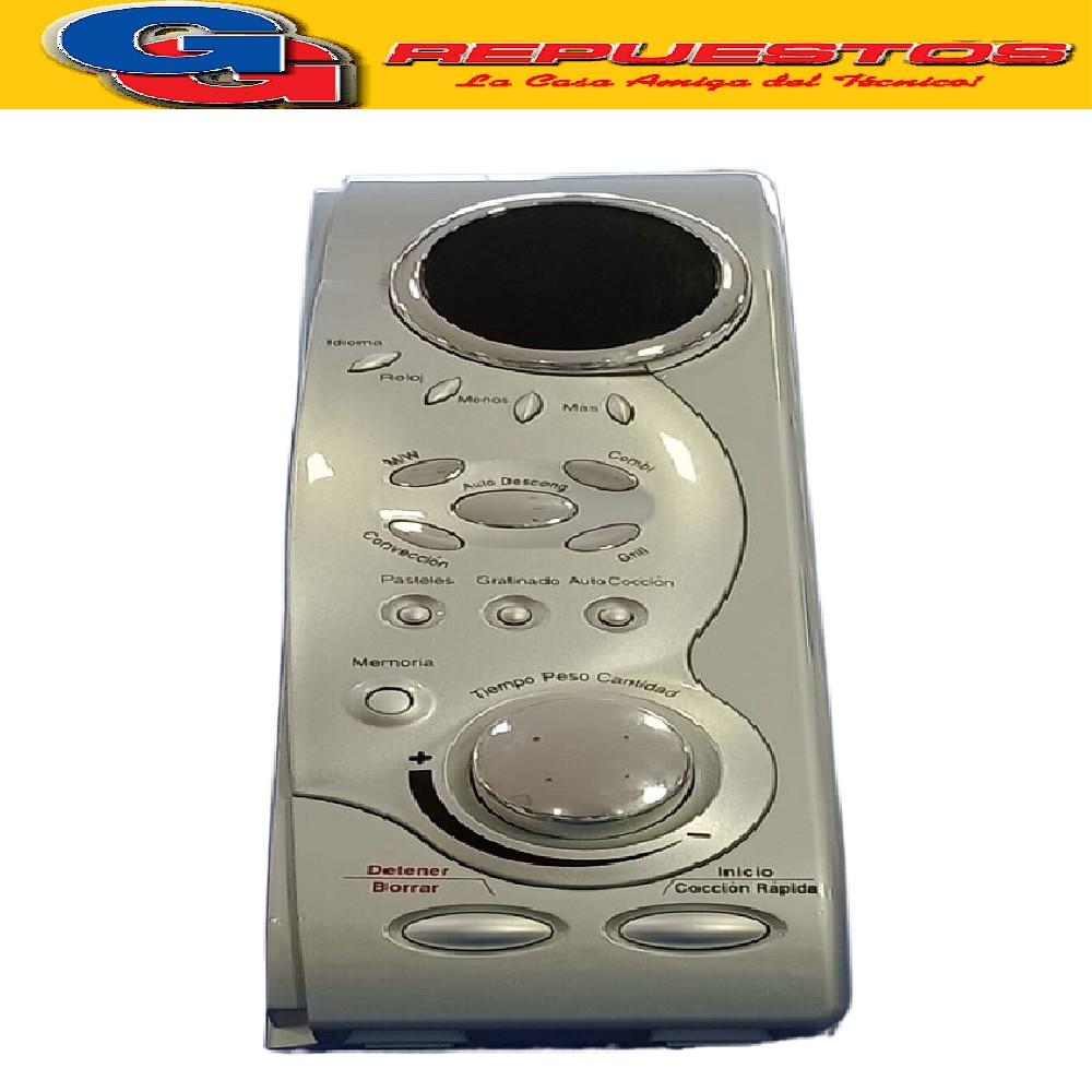 FRENTE MICROONDAS COMPLETO C/PERILLA Y PLAQUETA (MO319)