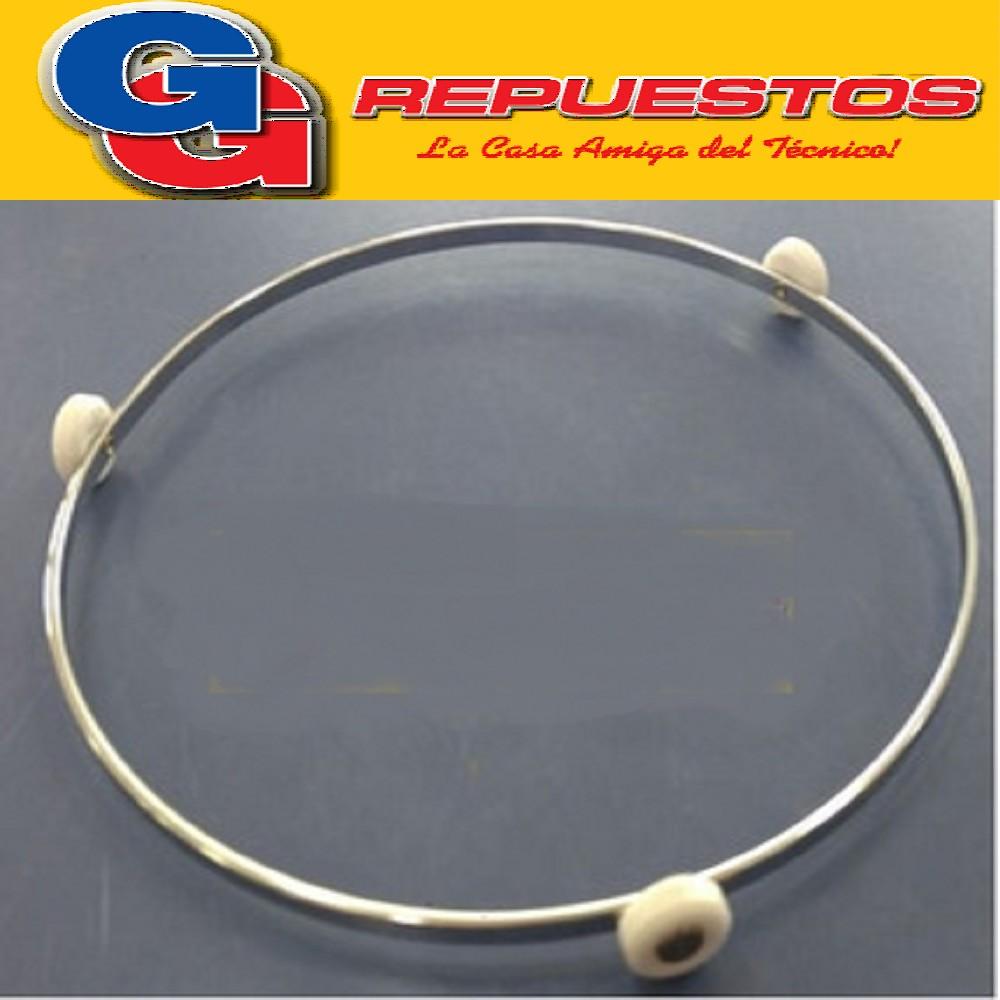 ARO METALICO RUEDAS GRANDES 22,5 CM (DIAMETRO) RUEDAS 20MM (DIAMETRO).