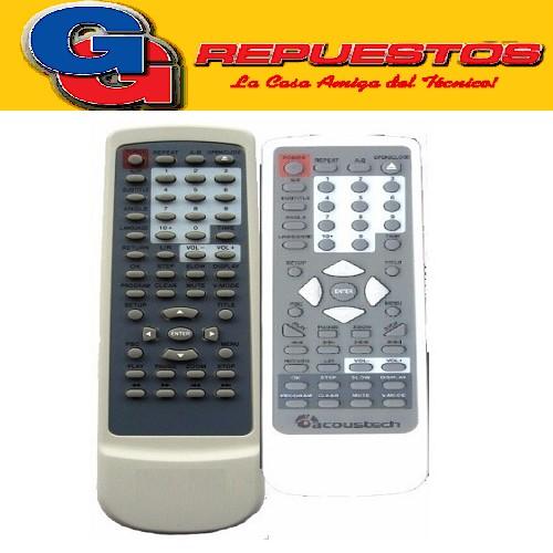 CONTROL REMOTO DVD ACOUSTECH  2656