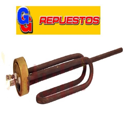 RESISTENCIA LONGVIE - RHEEM SIN TERMOST.1500W TERMOTANQUE ELECTRICO ADAPTABLE A JAMES 30-40-60- LITROS