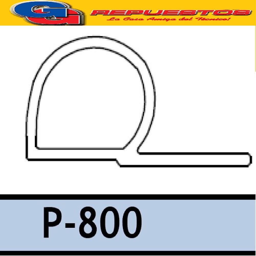 BURLETE P-800 CUERINA PVC PARA HELADERAS COMERCIALES X METRO