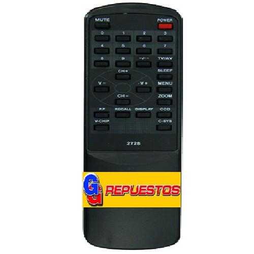CONTROL REMOTO TV DURABRAND TOP HOUSE (2728)