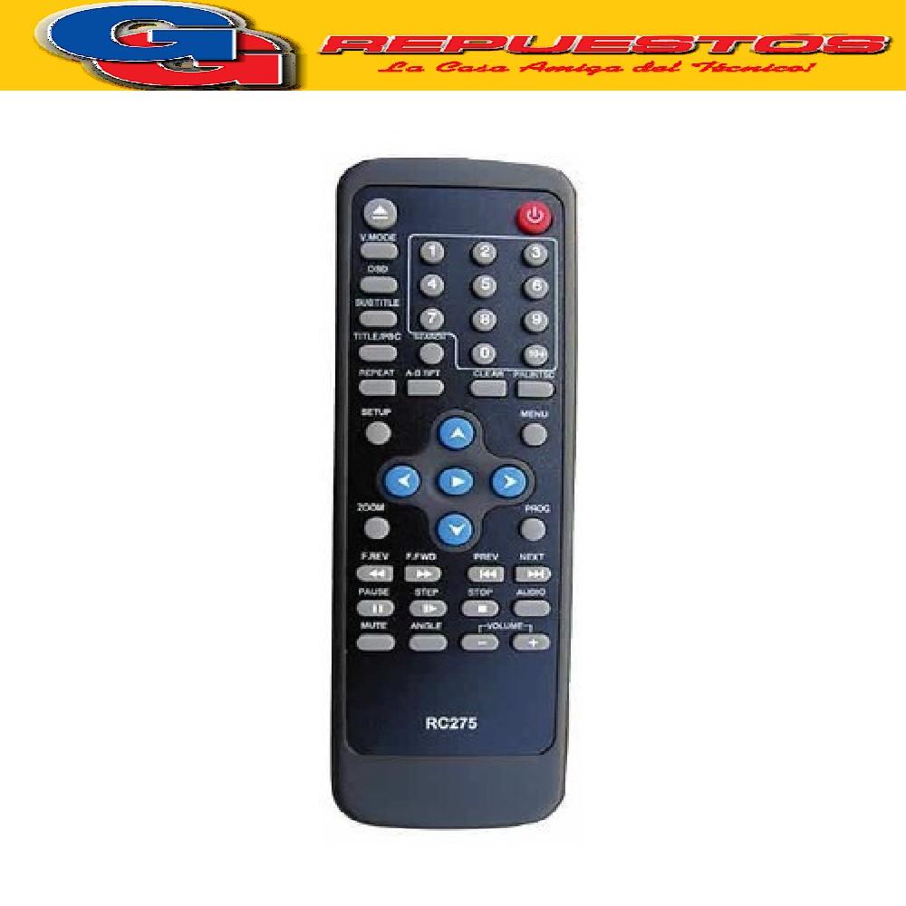 CONTROL REMOTO DVD PHILCO DVP-418 3531