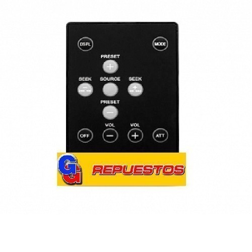 CONTROL REMOTO AUTOESTEREO SIMILAR A SONY