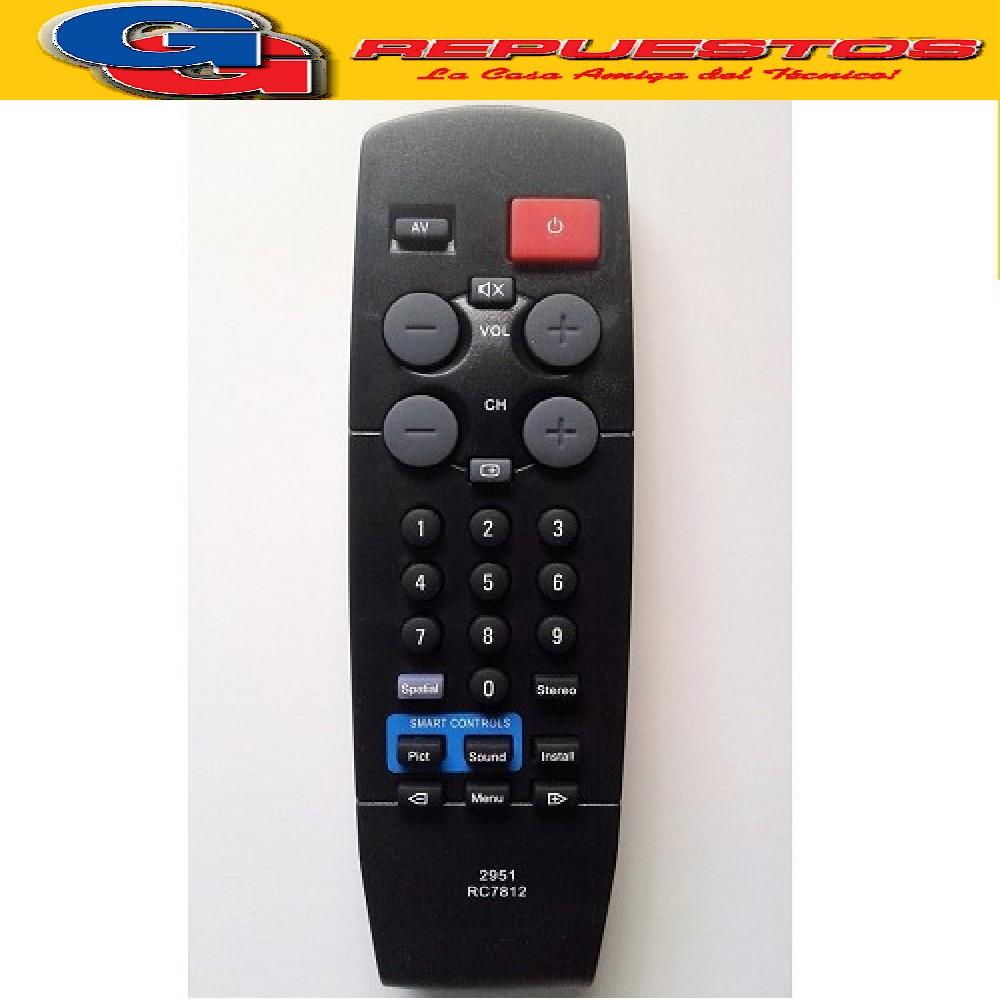 CONTROL REMOTO TV PHILIPS RC-7812