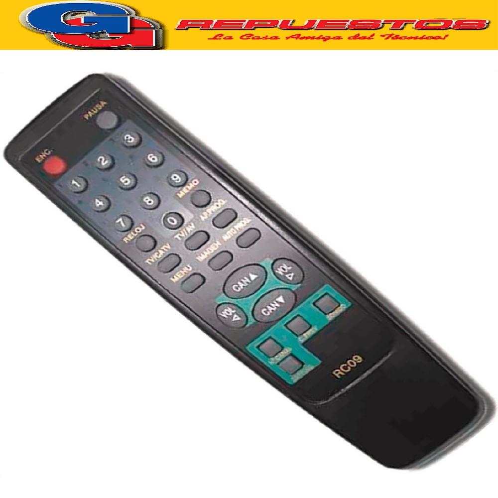 CONTROL REMOTO TV CR2004.PHILCOPH21ST.NOBLEX20TC633