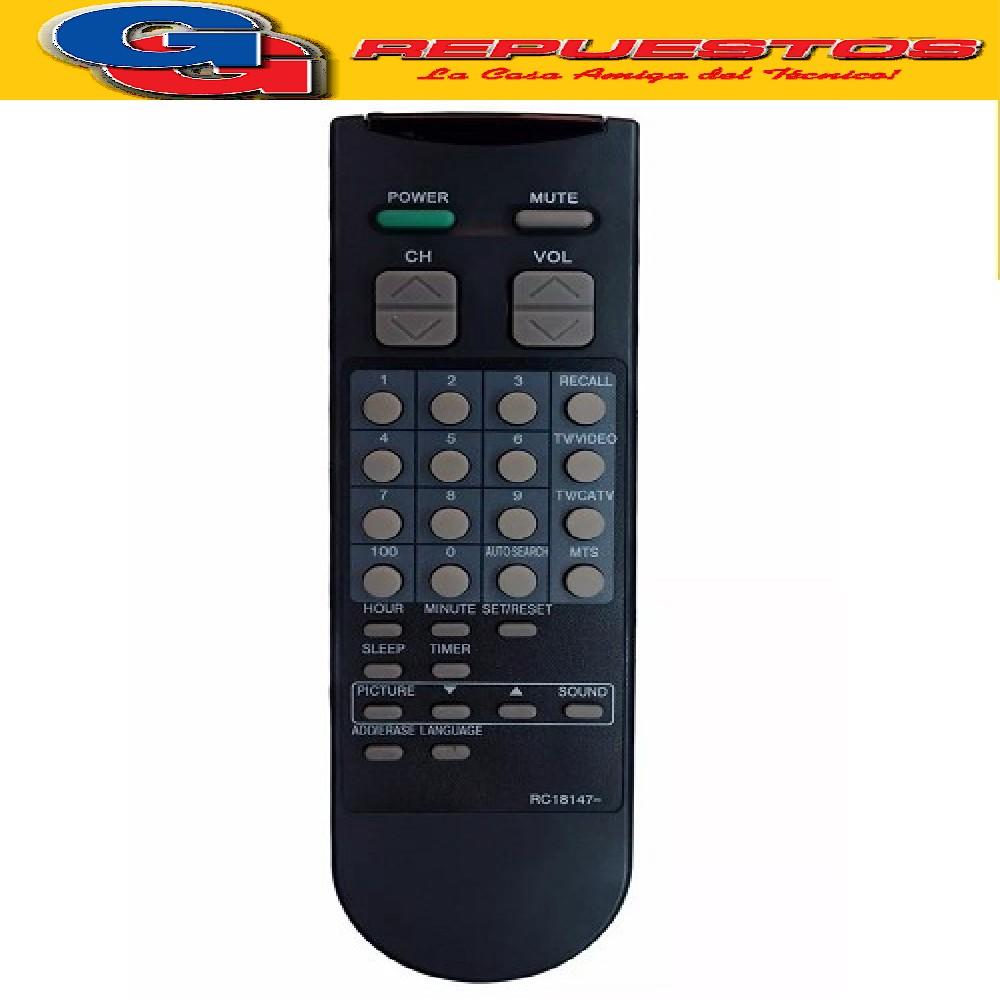 CONTROL REMOTO TV DAEWO R-18H43 PHILCO RC18147