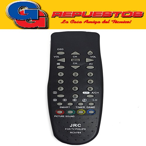 CONTROL REMOTO TV PHILIPS RC-0764