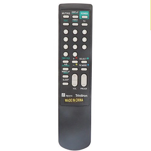 CONTROL REMOTO TV SIMILAR A SONY RM-827T