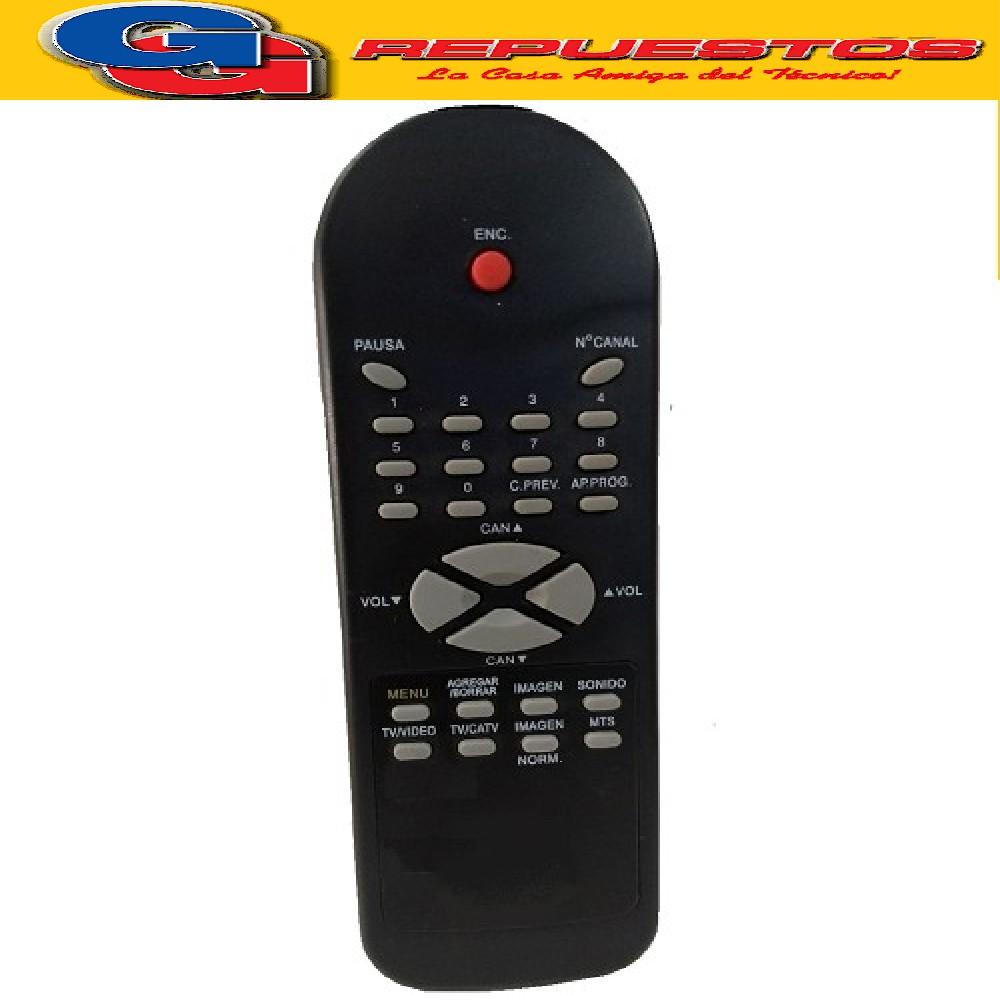 CONTROL REMOTO TV NOBLEX RC105-15 8T