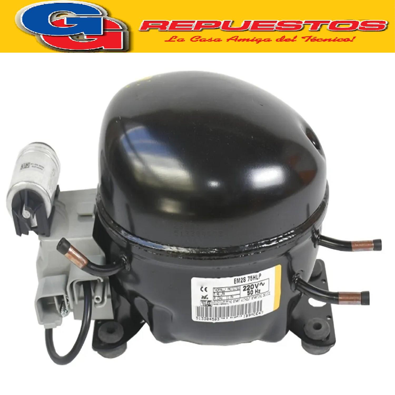 MOTOCOMPRESOR EMBRACO 1/4 EMYS75HSP-R134-R12  f/h
