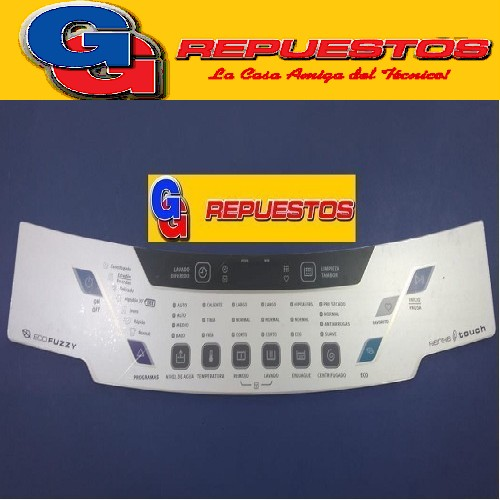 SERIGRAFIA PLACA MEMBRANA ELECTROLUX (ALEJANDRITA). TIPO ELACW09 - ELACW10 SARA.