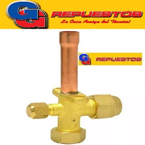 ROBINETE VALVULA SPLIT 3/4 PARA R410 (RECTA)